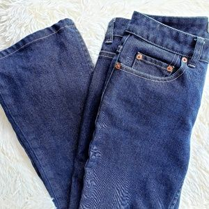 Banana Republic Straight Blue Jeans 4R
